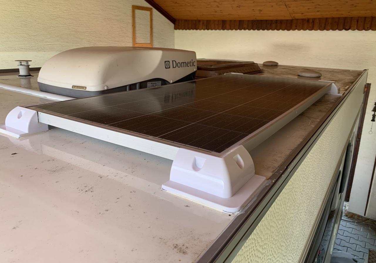 Solarní panel 130W