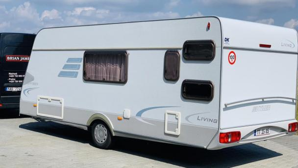100 - HYMER 525 Living Palandy